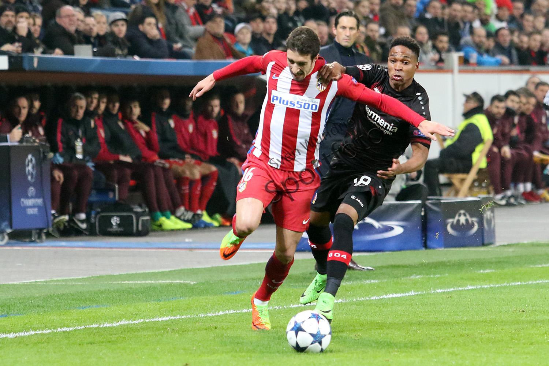 CL - 16/17 - Bayer 04 Leverkusen vs. Atletico Madrid