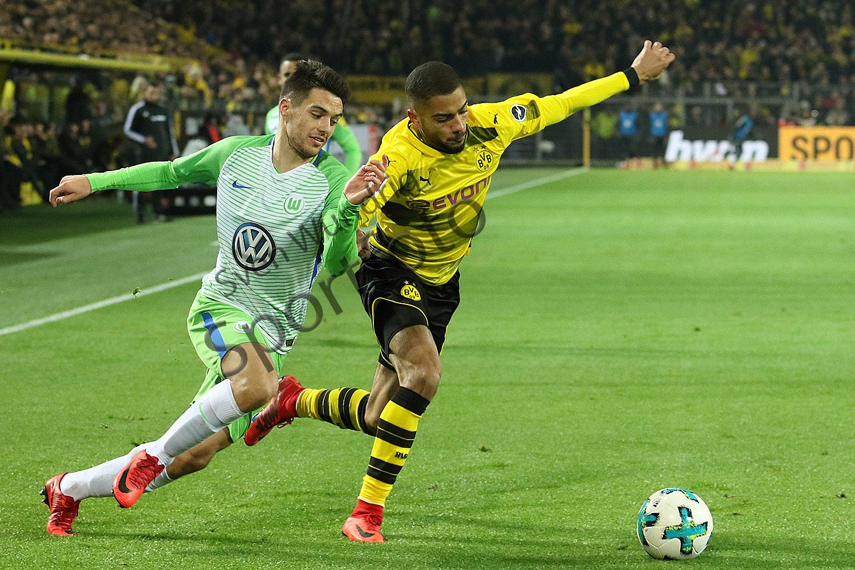 1.BL - 17/18 - Borussia Dortmund vs. VfL Wolfsburg