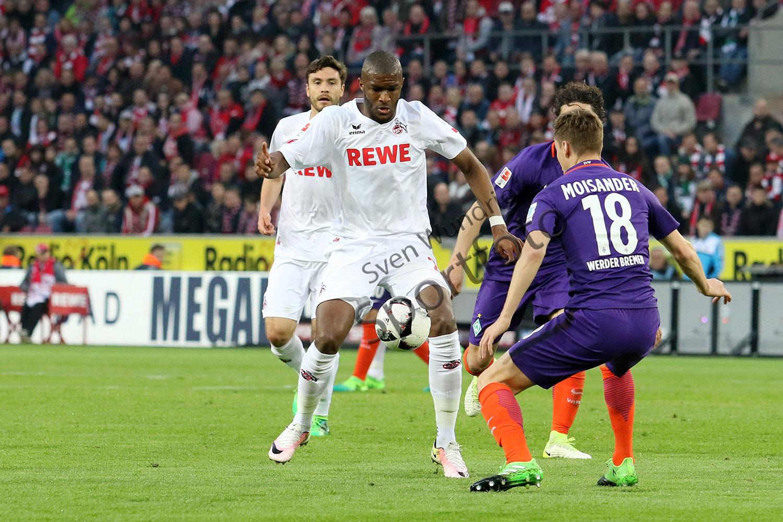 1. BL - 16/17 - 1. FC Köln vs. Werder Bremen