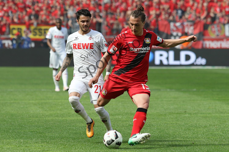 1. BL - 16/17 - Bayer 04 Leverkusen vs. 1. FC Köln