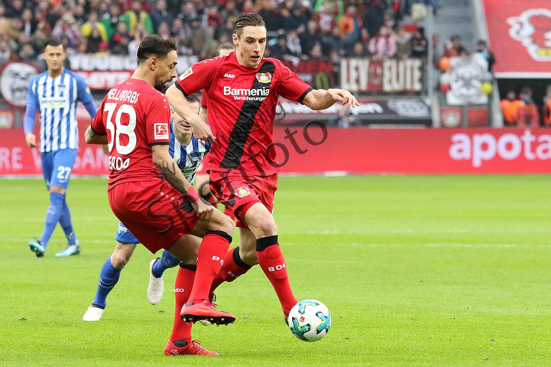 1. BL - 17/18 - Bayer 04 Leverkusen vs. Hertha BSC