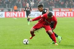 1. BL - 16/17 - Bayer Leverkusen  vs. Eintracht Frankfurt
