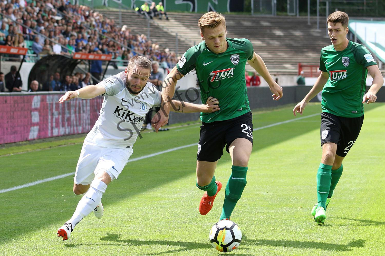 3.Liga - 17/18 - SC Preussen Muenster vs. SV Meppen