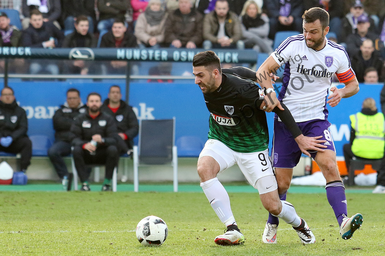 3.Liga - 16/17 - VfL Osnabrueck vs. Preussen Muenster