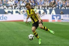 1. BL - 16/17 - FC Schalke 04 vs. Bor. Dortmund
