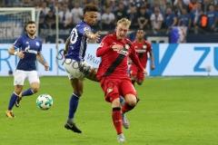 1. BL - 17/18 - FC Schalke 04 vs. Bayer 04 Leverkusen