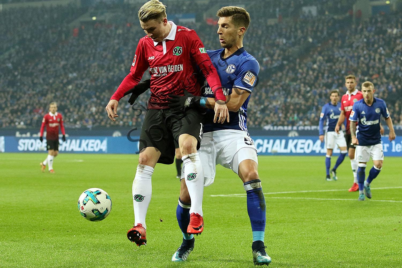 1. BL - 17/18 - FC Schalke 04 vs. Hannover 96