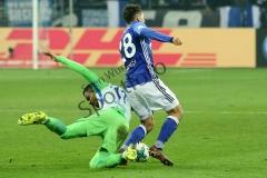 DFB Pokal 1/4 - 17/18 - FC Schalke 04 vs. VfL Wolfsburg