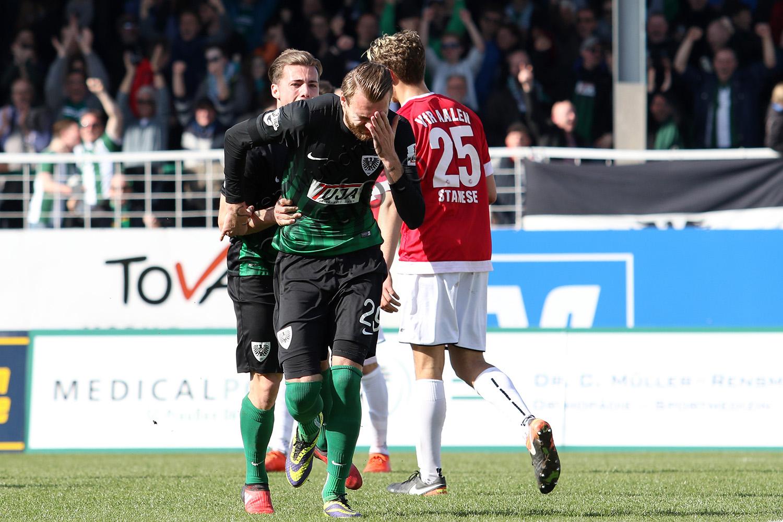 3.Liga - 16/17 - SC Preussen Muenster vs. VfR Aalen