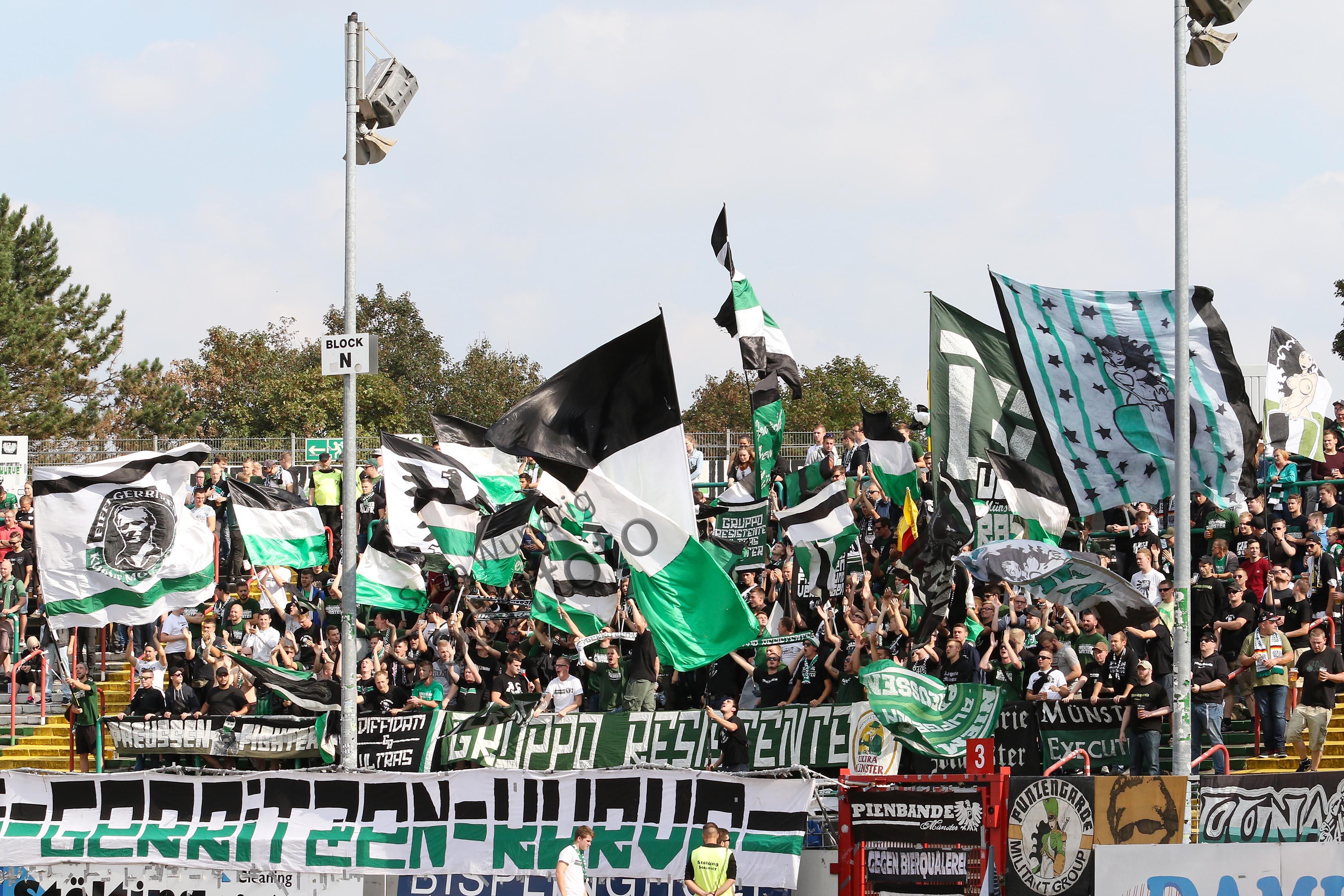 3.Liga - 16/17 - SC Preussen Muenster vs. SV Werder Bremen II