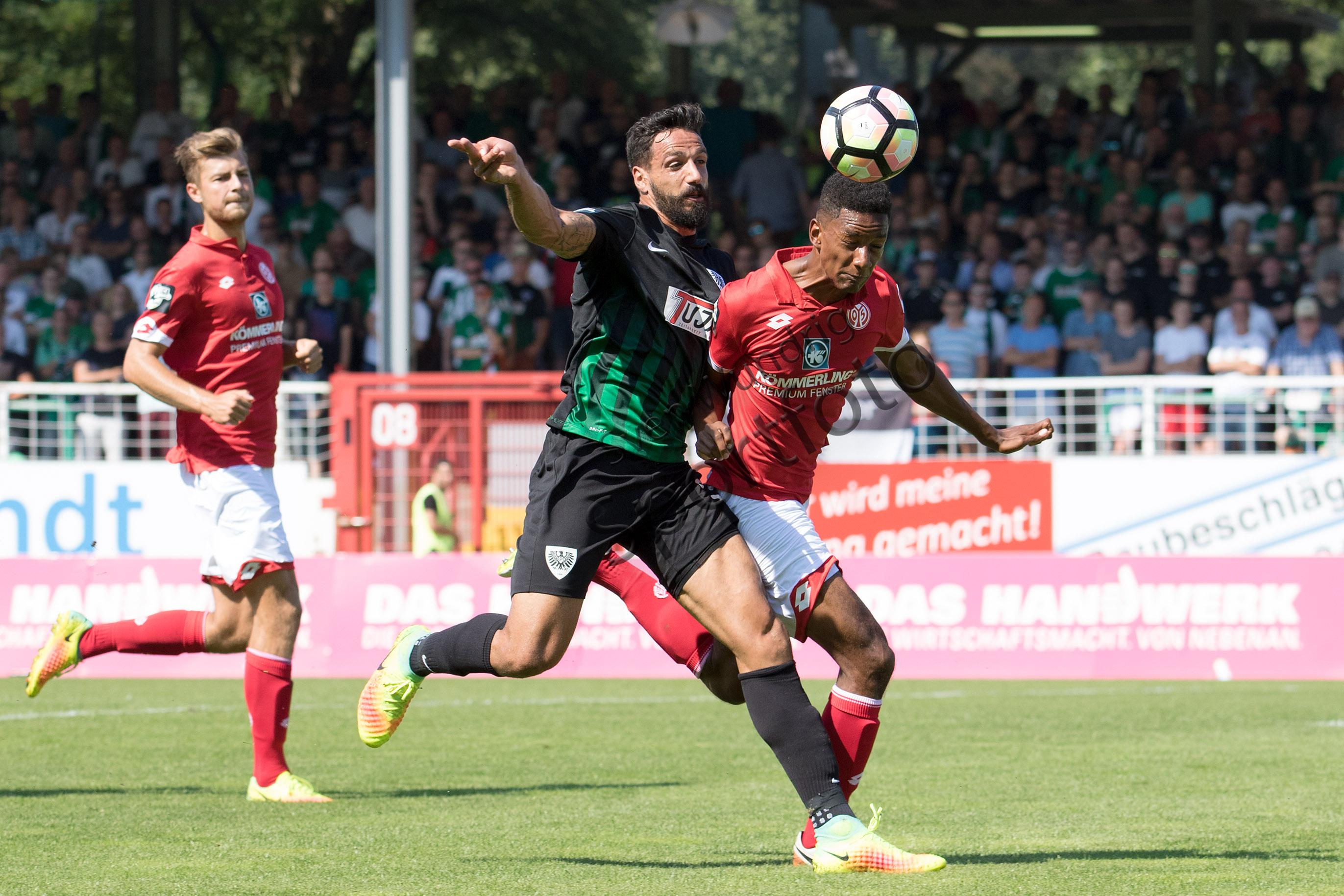 3.Liga - 16/17 - SC Preussen Muenster vs. 1. FSV Mainz 05 II