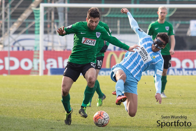 3. Liga - 15/16 - Preussen Muenster vs. Chemnitzer FC